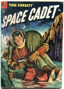 Tom Corbett Space Cadet #11 1954- Dell Comics- Golden Age F/G