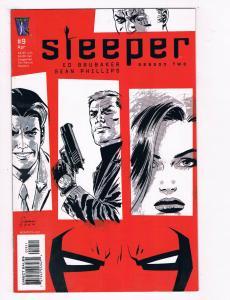 Sleeper #9 NM Wildstorm Comics Comic Book Brubaker 2005 DE27