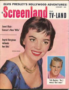ScreenLand-Elvis Presley-Natalie Wood-Tab Hunter-Jan-1957