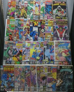WHAT IF...? MEGA-SAMPLER! 30 issues from Volume1,2&3! Ponder Marvel's Never-was!