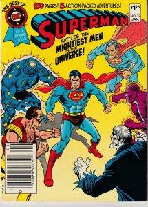 Best of DC # 32 – Superman vs the Mightiest Men in The Universe