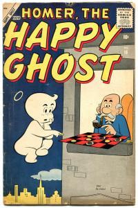 Homer The Happy Ghost #16 1957-Atlas Comic DAN DE CARLO VG