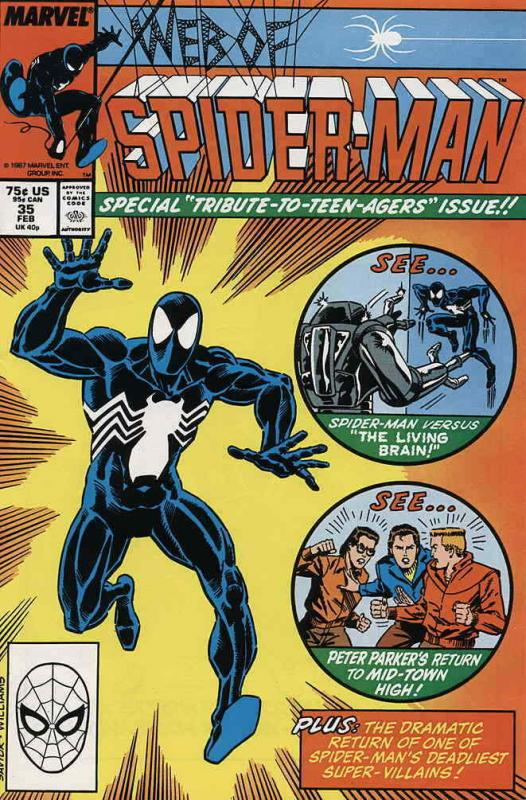 Web of Spider-Man, The #35 VF/NM; Marvel | save on shipping - details inside