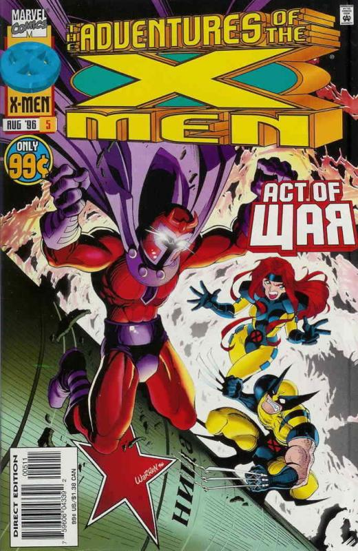 Adventures of the X-Men, The #5 VF/NM; Marvel | save on shipping - details insid