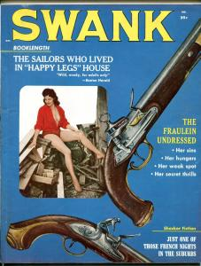 Swank Magazine October 1959- Charles Copeland art- Cheryl Kubert VF