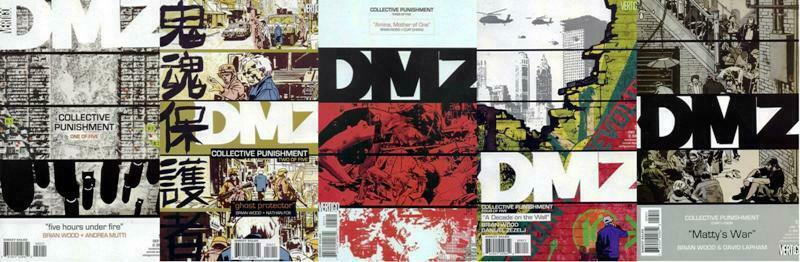DMZ (2006 VERTIGO) 55-59  Collective Punishment COMICS BOOK