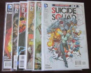 Suicide Squad (2011-12 4th Series), SET:#0,2-5,8, 6 DIFF, VF