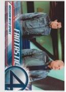 2005 Upper Deck Fantastic Four Movie MISSION INTO SPACE #10