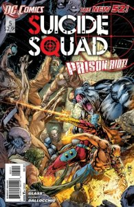 Suicide Squad #5 (VF/NM) 2012 DC Comics ID#000
