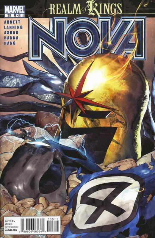 Nova (4th Series) #35 VF/NM; Marvel | save on shipping - details inside