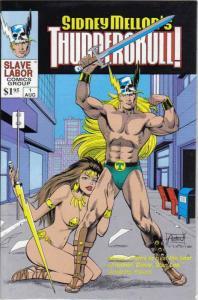 Thunderskull! (Sidney Mellon's…) #1 FN; Slave Labor   save on shipping - details