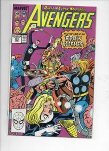 AVENGERS #301, VF/NM, Fantastic Four, Brain Leeches, 1963 1989, Marvel