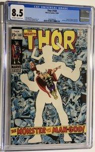 Thor #169 (1969) CGC Graded 8.5 Origin of Galactus