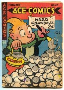 Ace Comics #107 1945- Phantom- Blondie restored G
