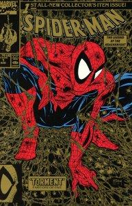 Spider-Man 1 Set: Gold, Sliver, Regular Covers 1990 All 9.0 (our highest grade)