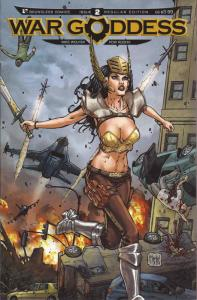 War Goddess #2 VF/NM; Boundless | save on shipping - details inside