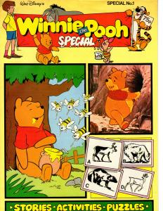 Winnie the Pooh Special #1 (Disney 1987) Stories Activities Puzzles Comics! Fun!