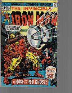 Iron Man #83 (Marvel, 1976)