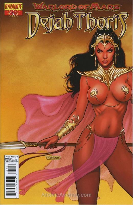 Warlord of Mars: Dejah Thoris #29A FN; Dynamite | save on shipping - details ins