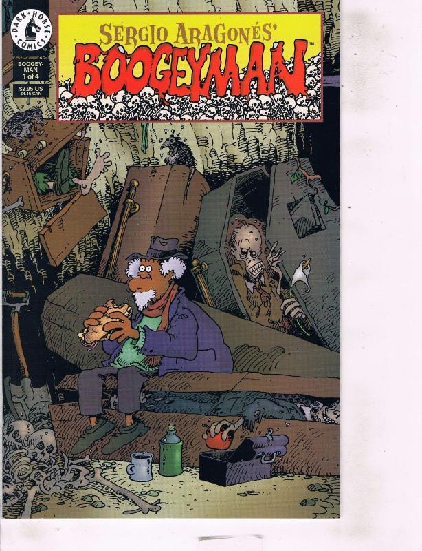 Lot Of 2 Sergio Aragones Boogeyman Dark Horse Comic Book #1 2  AB7