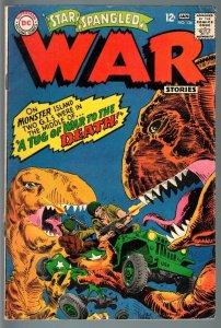 STAR SPANGLED WAR STORIES #136-1967-DC WAR COMIC-SILVER AGE-VG VG