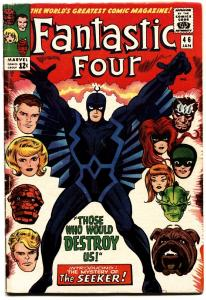 Fantastic Four #46--1st Black Bolt cover-MCU-Inhumans Movie issue