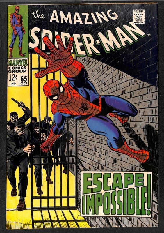 Amazing Spider-Man #65 VG+ 4.5