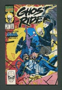 Ghost Rider #5 / 9.4 NM  / Jim Lee / September 1990