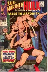 TALES TO ASTONISH 94 VG HIGH EVOLUTIONARY 8/1967