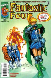 Fantastic Four (1998 series) #22, VF+ (Stock photo)