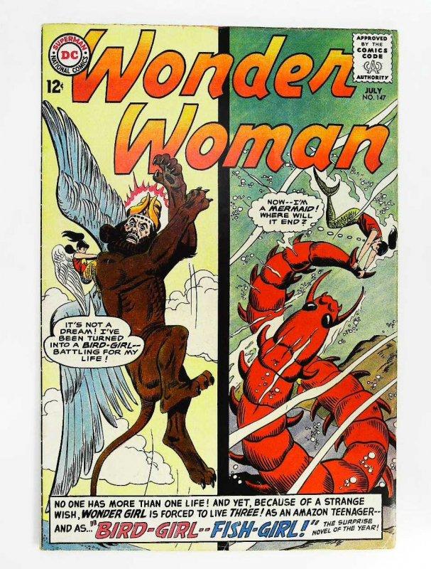 Wonder Woman (1942 series) #147, Fine- (Actual scan)