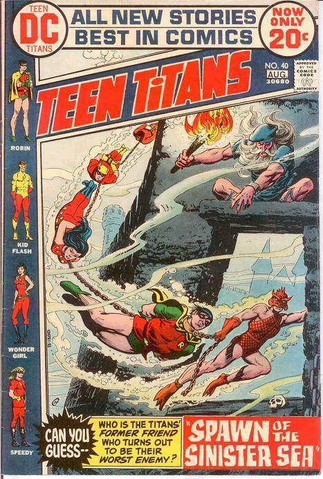 TEEN TITANS (1966) 40 VF-    August 1972 COMICS BOOK