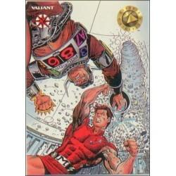 1993 Valiant Era MAGNUS ROBOT FIGHTER #5 - Card #6