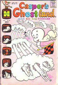 Casper's Ghostland #60 (May-78) GD Affordable-Grade Casper, Spooky