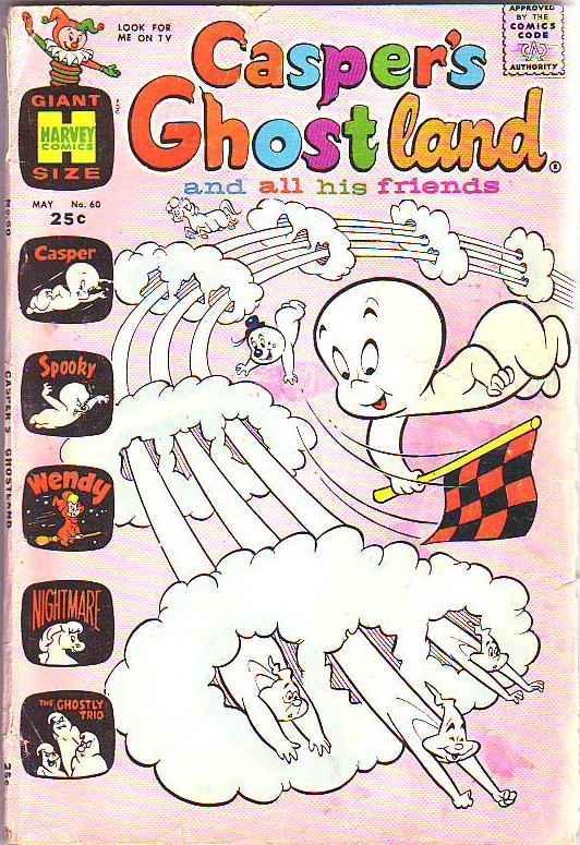 Casper's Ghostland #60 (May-78) GD Affordable-Grade Casper, Spooky