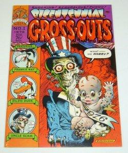 Bicentennial Gross-Outs #1 FN underground comix WILLIAM STOUT disney satire