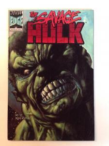 The Savage Hulk Tpb Near Mint