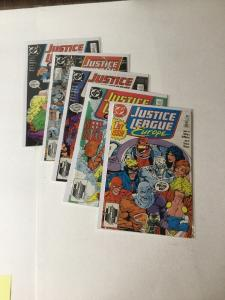 Justice League Europe JLE 1 2 3 4 T Near Mint Nm