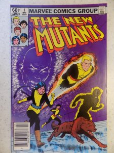 NEW MUTANTS # 1 HOT MOVIE LIGHT DING UPPER RIGHT CORNER