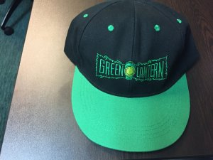 Green Lantern adjustable baseball hat
