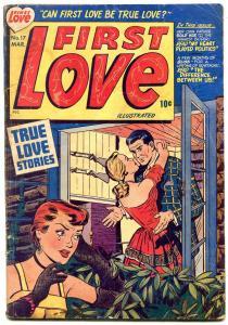 First Love #17 1952-Harvey Golden Age Romance- Bob Powell G