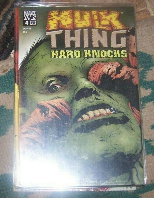 Hulk -THING HARD KNOCKS  # 4 2005 Marvel kknights  bruce banner gamma monster