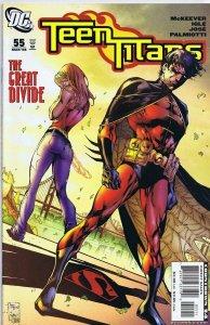 Teen Titans Vol 3 #55 ORIGINAL Vintage 2008 DC Comics GGA