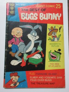 Best of Bugs Bunny (Gold Key October 1968) #2 Accidental Outlaw Fish Men VG
