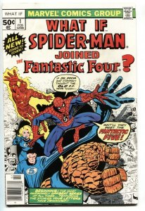 What If #1 comic SPIDER-MAN HAD JOINED THE FANTASTIC FOUR? VF