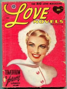 Love Novels Pulp February 1954-1 Tomorrow is Forever VG
