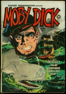 Moby Dick - Feature Presentations #6 1950 - Wally Wood cover VG