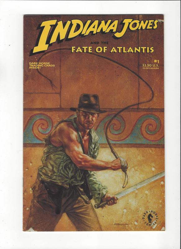 Indiana Jone Fate of Atlantis #1 Dark Horse Comics VF