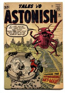 Tales to Astonish #39 comic book-Early Ant-Man-Jack Kirby-Marvel G