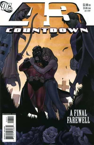 Countdown (2007 series) #43, VF- (Stock photo)